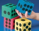 Foam Jumbo Playing Dice
