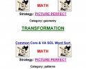 Common Core Math Word Sort 6-12