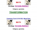 Common Core Math Word Sort K-5