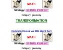 Common Core Math Word Sort K-5